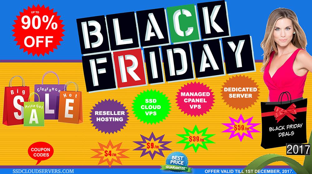 Black Friday Hosting & Server Deals 2019!